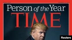 ჟურნალმა Time, დონალდ ტრამპი წლის ადამიანად დაასახელა