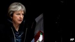 ترزا می نخست وزیر بریتانیا - آرشیو