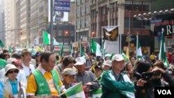 支持台灣入聯群眾
