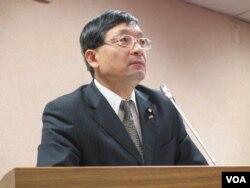 台湾在野党亲民党立委李桐豪(美国之音张永泰 拍摄)