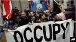 """""""Окупирај го Вол Стрит"""" со протести одбележува два месеца од постоењето"""