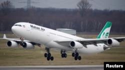 Самолет иранской компании Mahan Air