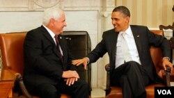 El TLC fue recibido con satisfacción por los presidentes Martinelli y Obama.