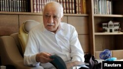 FILE - Islamic preacher Fethullah Gulen is pictured at his residence in Saylorsburg, Pennsylvania, in 2013.
