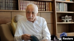 FILE - Islamic preacher Fethullah Gulen is pictured at his residence in Saylorsburg, Pennsylvania, Sept. 26, 2013.