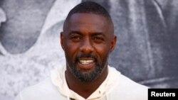 Idris Elba saat menghadiri pemutaran perdana film 'Yardie' di BFI Southbank, London, Inggris, 21 Agustus 2018.