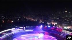 বঙ্গবন্ধু জাতীয় স্টেডিয়ামে দশম বিশ্বকাপ ক্রিকেট প্রতিযোগিতার উদ্বোধন
