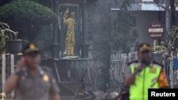 اتوار کو حملے کا نشانہ بننے والا ایک گرجا گھر