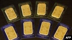 Цены на золото растут