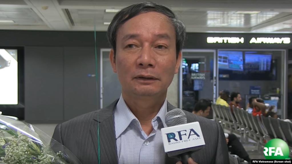 Ông Nguyễn Tường Thụy hiện giữ vai trò Quyền Chủ tịch Hội Nhà Báo Độc Lập Việt Nam và cũng là blogger của Đài Á Châu Tự do (RFA).