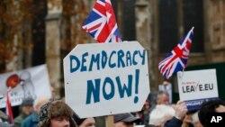 脫歐投票一年後 英國與美國越發相像