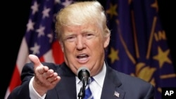 Donald Trump dake kan gaba a jam'iyyar Republican