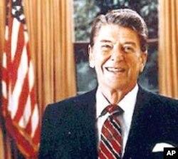Le président Ronald Reagan