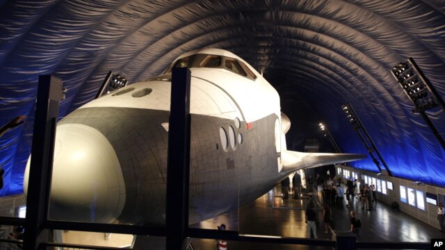 Space Shuttle Pavillion in New York, July 18, 2012