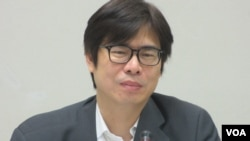 台灣在野黨民進黨立委陳其邁 (美國之音張永泰)