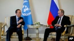 Зустріч Путіна з генсеком ООН
