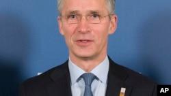 Babban Sakataren NATO Jens Stoltenberg,