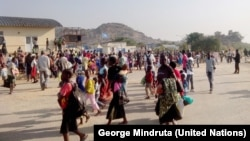 Camp de l'ONU à Juba. (UNMISS/George Mindruta)