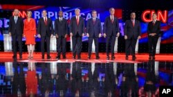 Đây là cuộc tranh luận trực tiếp lần thứ 5 trên truyền hình của các ứng viên tổng thống thuộc Đảng Cộng hòa.