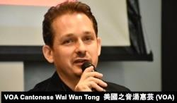 资料照:无国界记者组织东亚办事处执行长艾玮昂