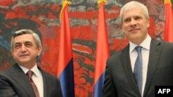 Ermənistan və Serbiya iqtisadi əməkdaşlığa dair bir sıra razılıqlar əldə edib