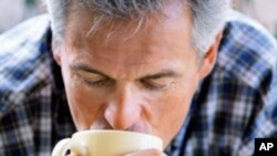 Men who drank six or more cups of coffee per day have a 60 percent lower risk of lethal prostate cancer than men who drank no coffee, a new study finds.
