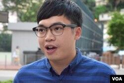 本土民主前線前成員李東昇。(美國之音湯惠芸攝)