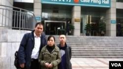 浦志強律師與任建宇(右)近日在重慶(浦志強博客照片)