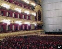 莫斯科大剧院内部