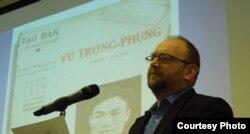 Giáo sư Peter Zinoman đưa Văn Cao, Trịnh Công Sơn vào diễn văn của Tổng thống Barack Obama (ảnh Bùi Văn Phú)
