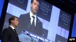 Выступление Дмитрия Медведева в Давосе 2011г.