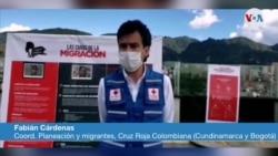 Fabian Cardenas de la Cruz Roja colombiana