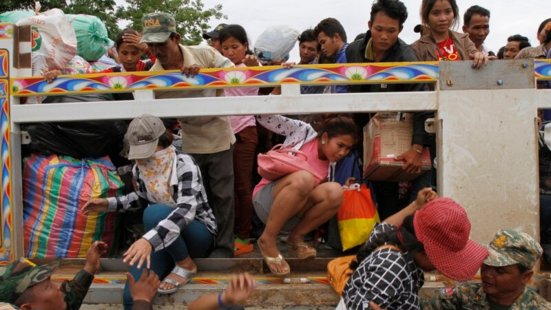 NGOs Dealing With Influx of Cambodians From Thailand