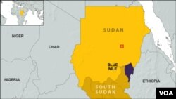 Peta wilayah Afrika (Foto: ilustrasi). Ethiopia mulai mengalihkan arus Sungai Nil Biru (Blue Nile) untuk memulai pembangunan bendungan raksasa, Selasa (28/5) yang menimbulkan keprihatinan di Mesir dan Sudan.