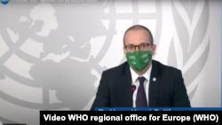 Bác sĩ Hans Henri P. Kluge, Giám đốc vùng phụ trách Châu Âu của Tổ chức Y tế Thế giới (WHO).