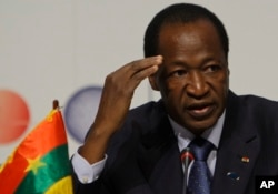Blaise Compaore, Presidente do Burkina Faso