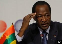 Blaise Compaore, Presidente do Burkina Faso