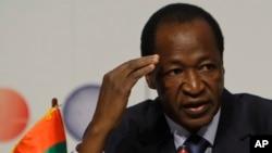 Presiden Burkina Faso, Blaise Compaore (Foto: dok).