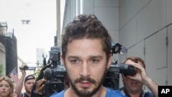 Shia LaBeouf (AP Photo/John Minchillo)