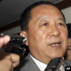 North Korea's Ri Yong Ho.