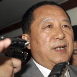 North Korea's Ri Yong Ho.
