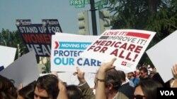 La decisión de la Corte Suprema, tomada el pasado jueves 28 de junio, ha asentado la división entre los simpatizantes y detractores de la Obamacare.