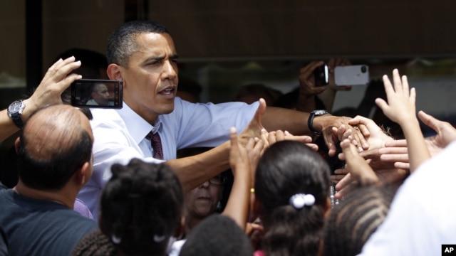 Tổng thống Obama nhận được sự ủng hộ của khối cử tri gốc Châu Mỹ Latinh