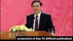 Phó Thủ tướng Vương Đình Huệ, 26/10/2019