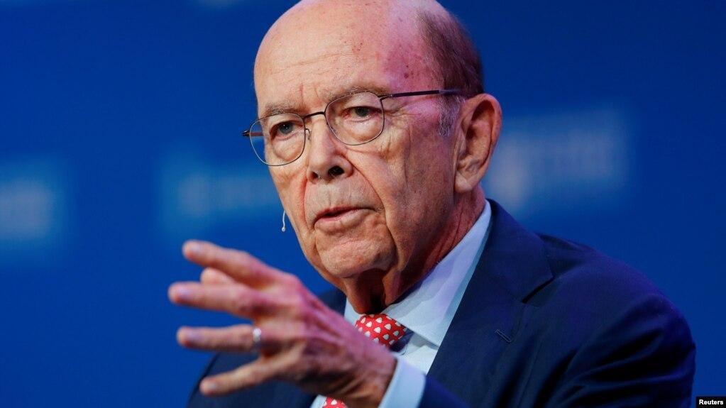 Bộ trưởng Thương mại Mỹ Wilbur Ross.