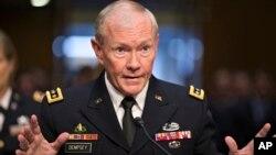 AQSh birlashgan shtab qo'mondoni general Martin Dempsi