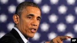 """Obama dijo que debió cerrar la cárcel de Guantánamo """"el primer día"""" de su presidencia."""
