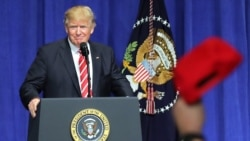 ကန္စစ္တပ္ကုိ ရာႏႈန္းျပည့္ေထာက္ခံဖုိ႔ သမၼတ Trump ကတိေပး