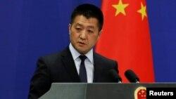 루캉 중국 외교부 대변인.