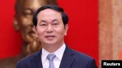 Chủ tịch nước Việt Nam Trần Đại Quang.
